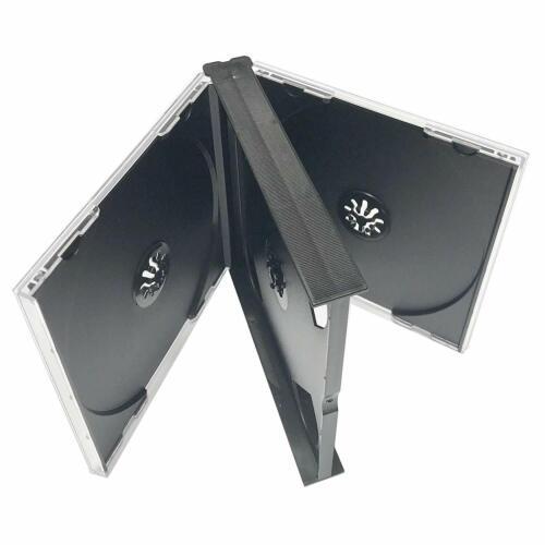 Black Quad 4 Disc CD Jewel Case , 10 Pack
