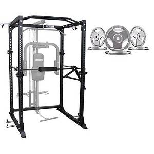 Brand New Heavy Duty Cage and 100KG Olympic Plates Package Canning Vale Canning Area Preview