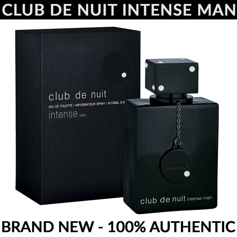 Armaf Club De Nuit Intense Man EDT 3.6 oz / 105mL - BRAND NEW SEALED - FAST SHIP