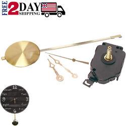 Pendulum Clock Westminster Mechanism Chiming Kit Wall Movement-Melody Han