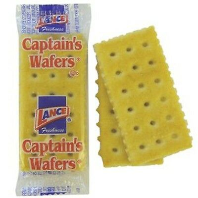 Lance Captains Wafers 2 Crackers Per Pack Pack Of 500