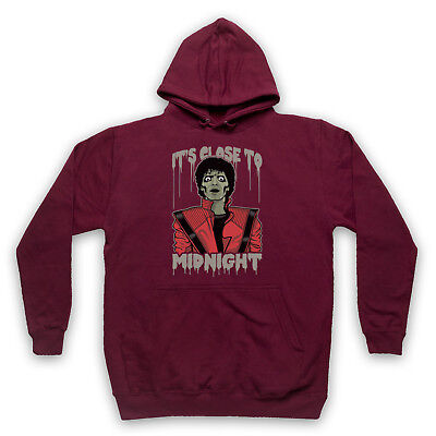 MICHAEL THRILLER UNOFFICIAL JACKSON ZOMBIE ILLUSTRATION ADULTS & KIDS HOODIE