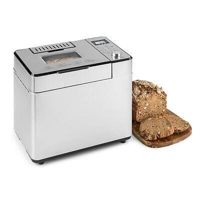 Panificadora Maquina hacer pan automática 14 Programas Pantalla LCD inoxidable