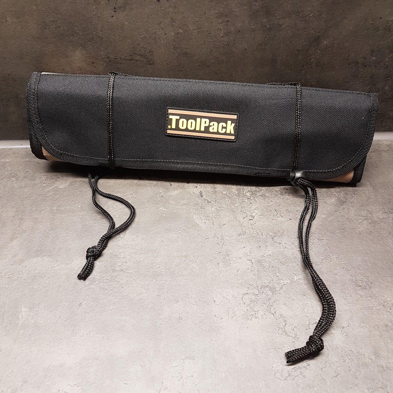 Profi Werkzeugrolltasche Koffer  Werkzeug Tasche Rolltasche Toolpack 22 Fächer