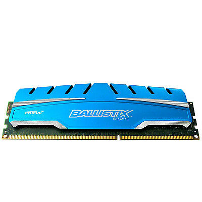 Crucial Ballistix Sport XT 4GB DDR3 1600 MHz PC3-12800 Memory RAM Desktop 4G