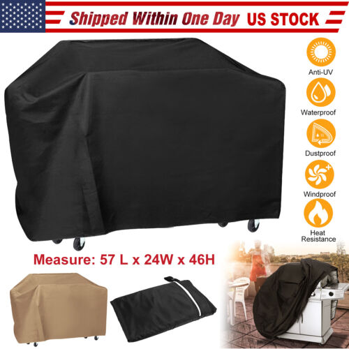 """57"""" BBQ Gas Grill Cover Barbecue Protection Waterproof Outdo"""
