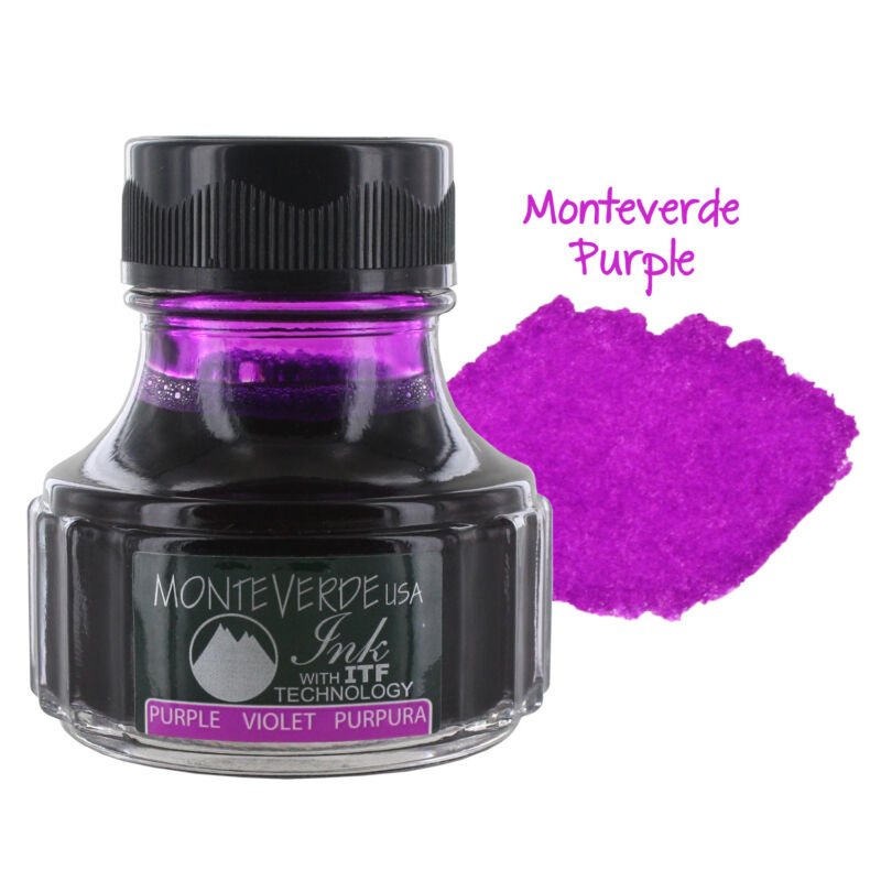 Monteverde USA Ink with ITF Technology, 90 ml Purple Reign (G308PL)