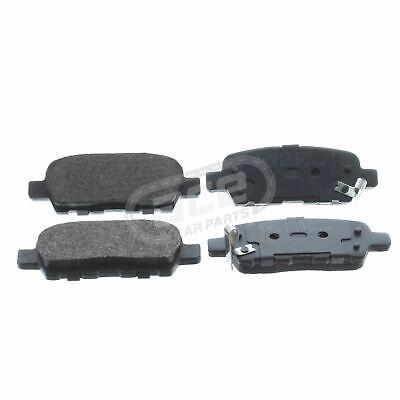 For Nissan X-Trail T30 10/2001-2007 2.0 2.2 2.5 Rear Brake Pads Set W106-H38-T14