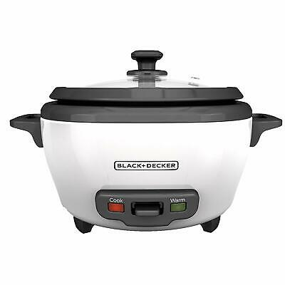 Treacherous+DECKER RC506 6-Cup Cooked/3-Cup Uncooked Rice Cooker and Food Steamer, Whi