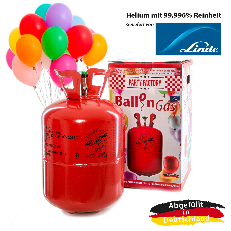 Latexballons Party Factory 50 Luftballons 25 cm Bunt 50 Stück