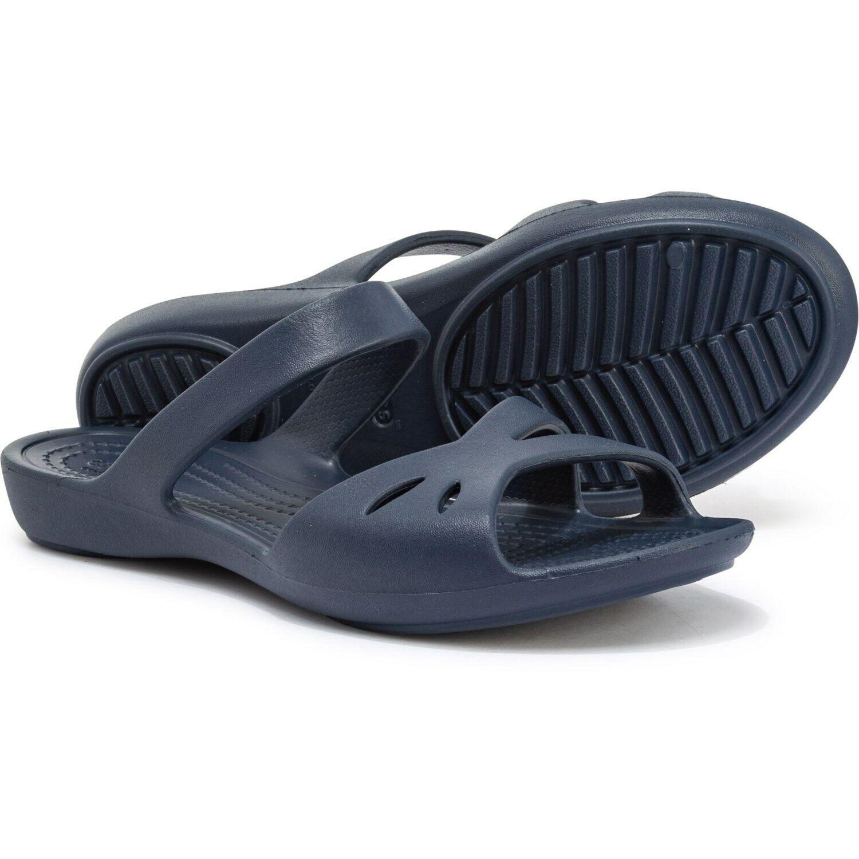 Crocs Womens Kelli Sandals NAVY - Free US Shipping NWT