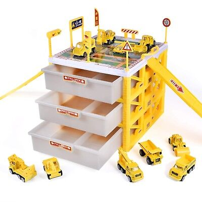 Excavator Toys For Kids Transporter Truck Construction Vehicles Boys 3 4 5 6 - Construction Toys For Kids