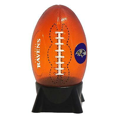 BALTIMORE RAVENS NFL Football Style Night Light Boelter Brand New in -