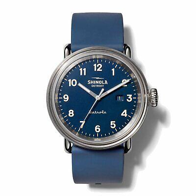 Shinola 43MM Detrola Daily Wear All Blue Quartz Watch S0120161963