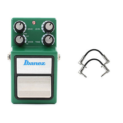 Ibanez TS9DX Turbo Tube Screamer with 2 R-Angle Patch Cable for sale  New York