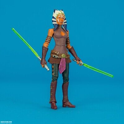 """Jedi Ahsoka Tano Star Wars Clone Wars Black Series 3.75"""" VC102 loose complete"""