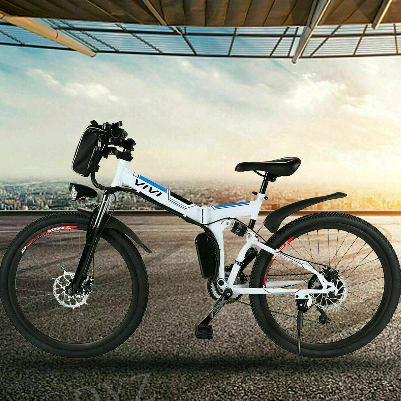 26 electric bike mountain bicycle city folding