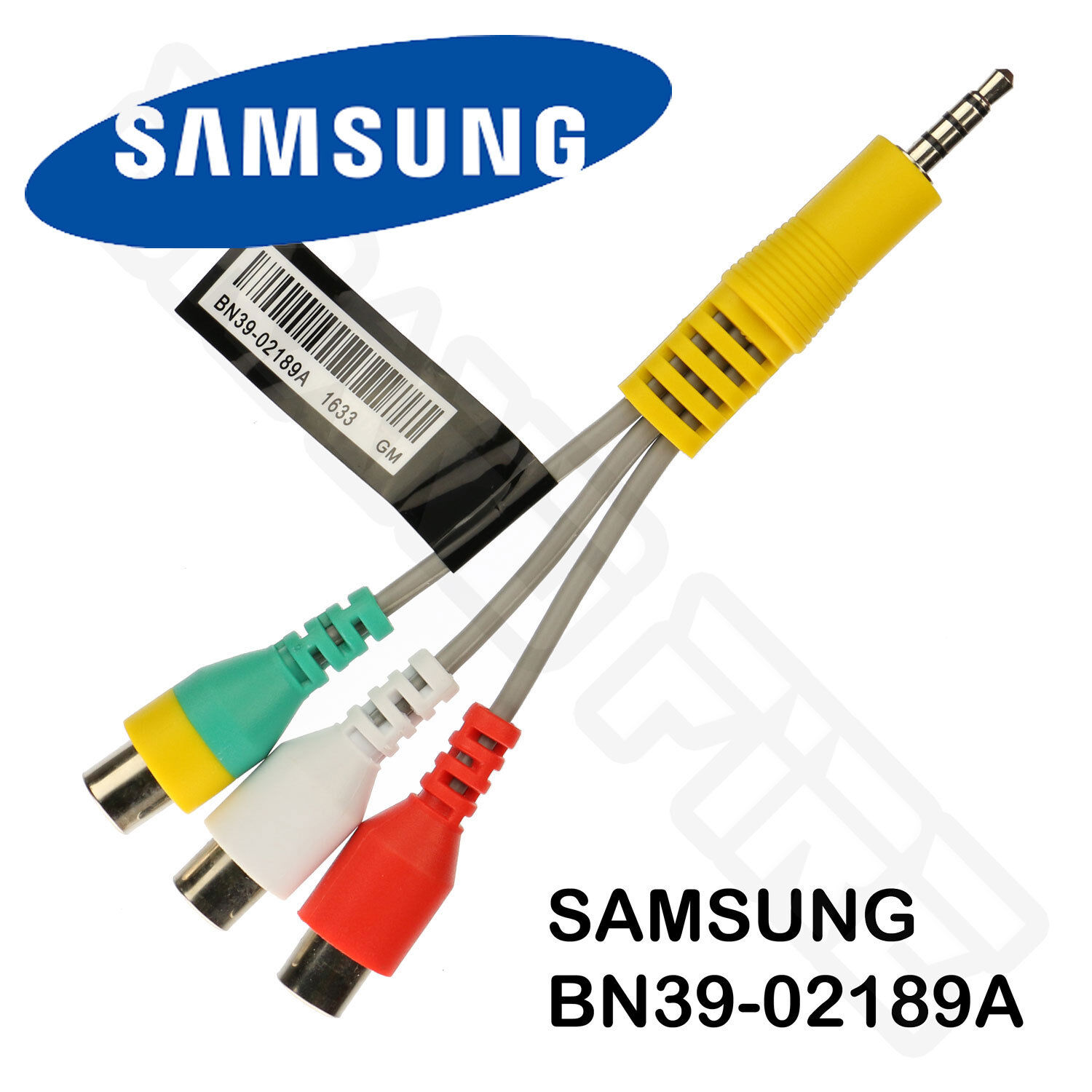 samsung tv accessories. samsung bn39-02189a av component adapter dc to rca gender cable led tv new tv accessories