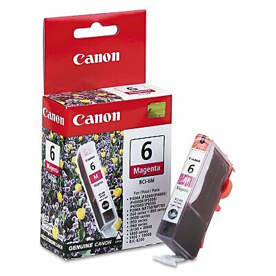 New Canon BCI-6M Magenta Replacement Ink Cartridge Tank For PIXMA Printer, used for sale  Shipping to India