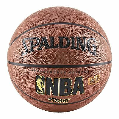 Indoor Globe - Spalding NBA Basketball Street Ball Indoor Outdoor Official Size 7 29.5 inch