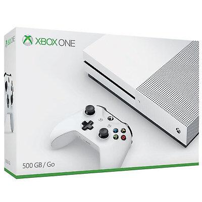 Microsoft Xbox One S 500GB Konsole Spielekonsole Controller Gaming weiß Video