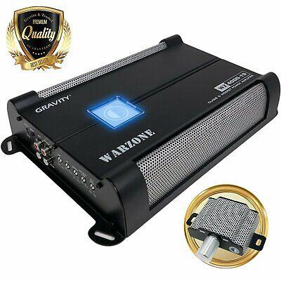 Gravity 4000W Class D 1Ohm Stable car audio Subwoofer bass Competition Amplifier