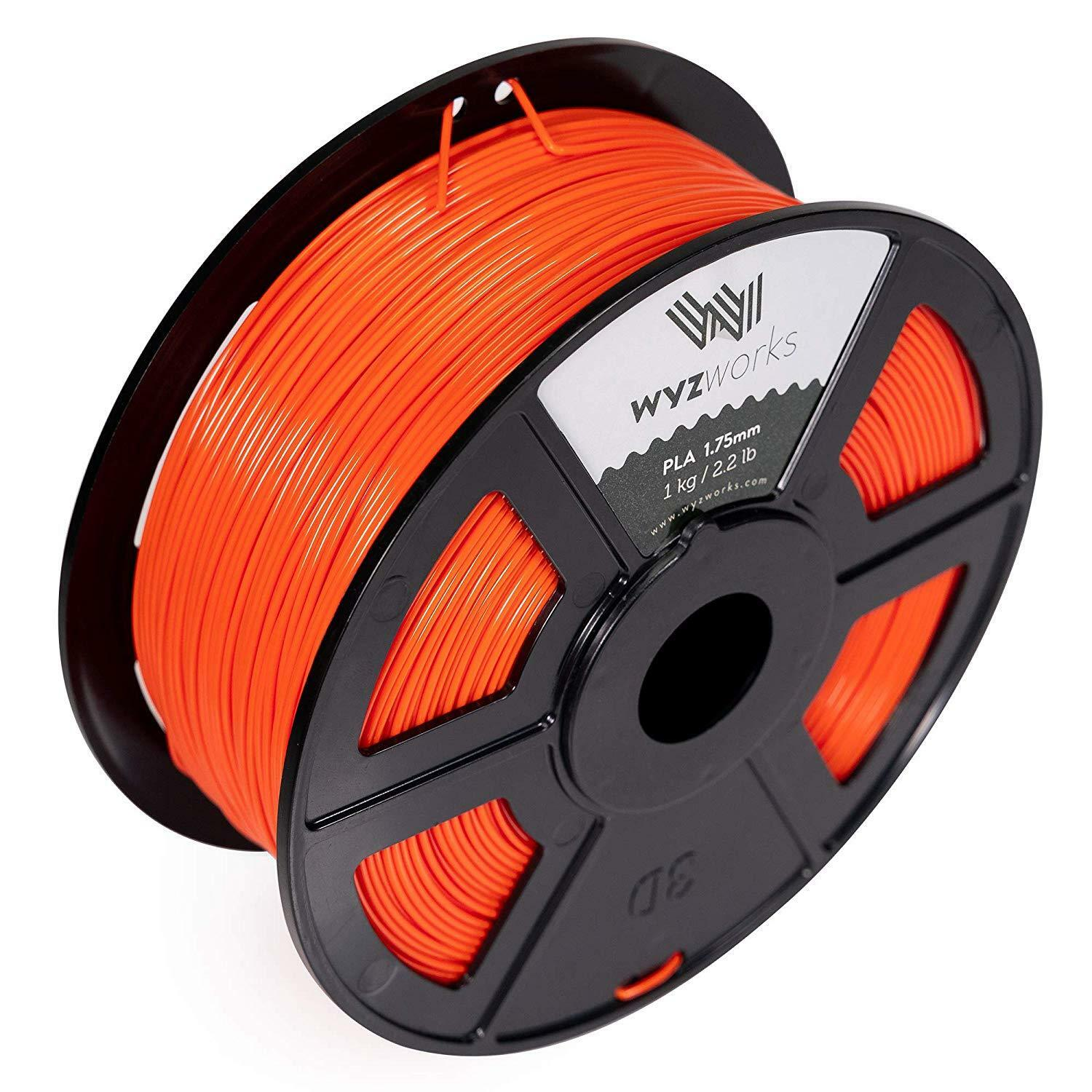 3d Printer Filament Pla Orange Qualified Go 3d