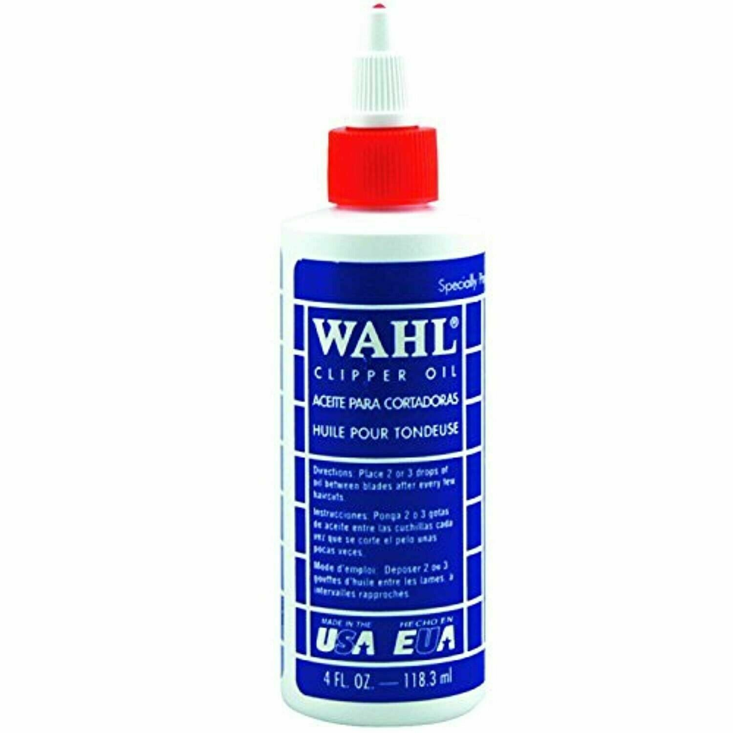 Wahl Professional Animal Blade Oil for Pet Clipper and Trimm