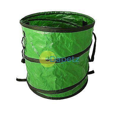 Heavy Duty Medium Size Pop Up Garden Bag Waste Weeds Leaves Bin Cutting Sack Bag