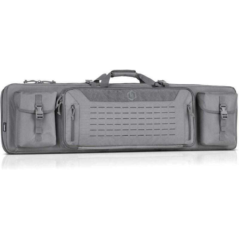Savior Equipment Gray Urban Double Rifle Gun Carrying Case, 46 Inch (Open Box)