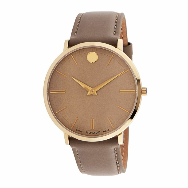 Movado-0607375-Men-Ultra-Slim-Beige-Quartz-Watch