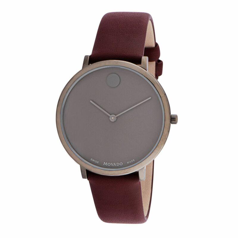 Movado 0607338 Women Modern 47 Grey Quartz Watch