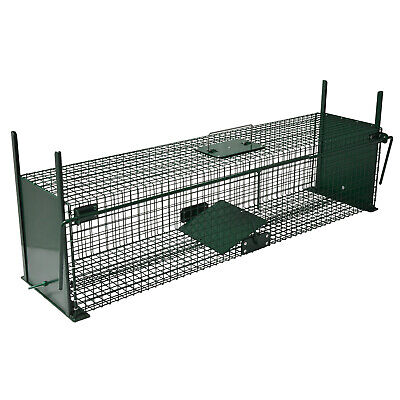 Moorland Stable Wire Cage Animal Trap 5007 Humane Live Trapping 100 x 25 x 25cm