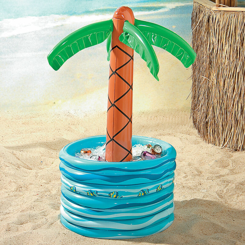 Inflatable Palm Tree In Pool Cooler - Toys - 1 Piece
