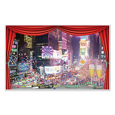 New Year Scene Setter (New Year Insta View Hanging Decor Scene Setter Time Square Eve Party)