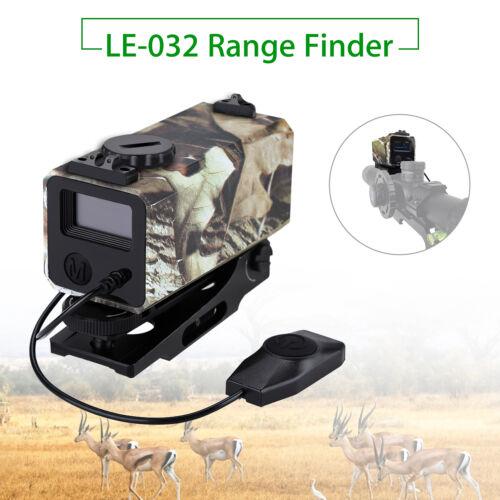 Hunting Range Finder Riflescope Laser Sight Meter Speed Measurer With Mount 700m