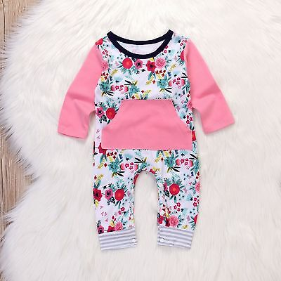 All Outfits (US Newborn Baby Girl Romper Bodysuit Jumpsuit Playsuit Clothes Cover all)