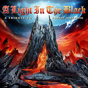 A Light In The Black-A Tribute To RONNIE JAMES DIO 2CD ( 200875 )( Heavy Metal )