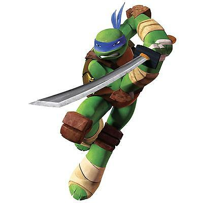 TEENAGE MUTANT NINJA TURTLES LEONARDO wall stickers Mural 16 stickups room decor ()