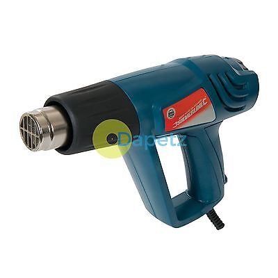 Profesional Aire Caliente Pistola Ajustable 2000W 600°C 125963 Pintura Remover