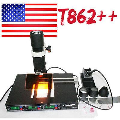 T862 Bga Infrared Rework Station Infrared Solder Station Irda Welder Xbox Hot