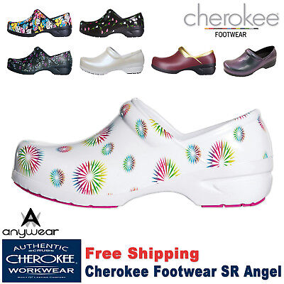 Cherokee Women's Nursing Shoe New SR ANGEL Workwear Closed Back Plastic Clog Cherokee Nursing Clogs