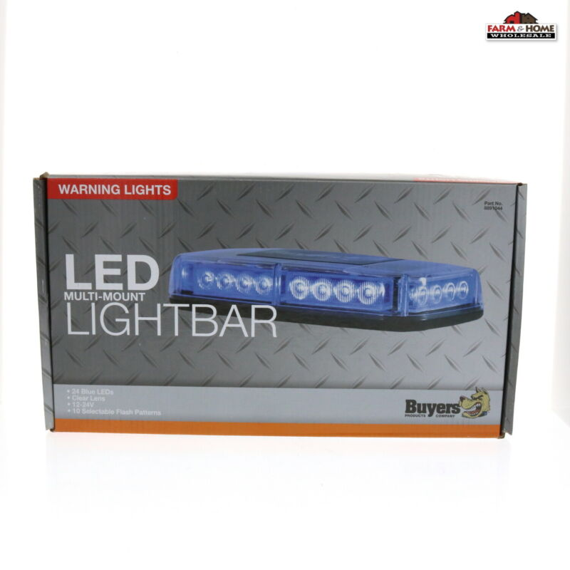 12-24 Volt LED Light Bar Warning Lights ~ NEW