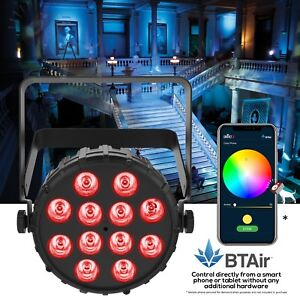 Chauvet SlimPAR T12 BT RGB Tri Bluetooth Wireless Controlled LED Par