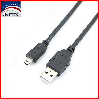 Mini USB Cable USB 2.0 Type A to Mini B Cable Male Cord For GoPro Hero 3+ HD Lot