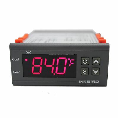 Inkbird Itc-1000 Digital Temp Controller Thermostat Home Brewing Incubator 110v