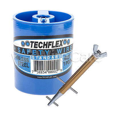 """Clamptite Kit- CLT05- 4 3/4"""" Stainless/Alum Tool & 1 lb can of .032 Safety Wire"""