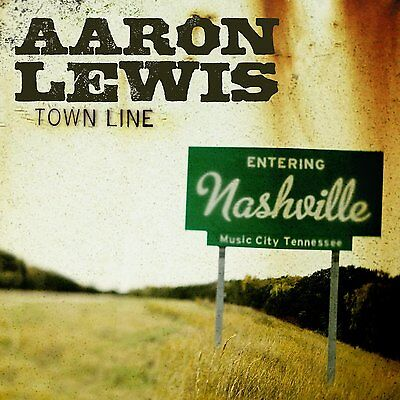 AARON LEWIS CD - TOWN LINE (2011) - NEW UNOPENED for sale  Colorado Springs