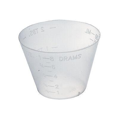 - DYNAREX - MEDICINE CUPS DISPOSABLE 1OZ PLASTIC GRADUATED 100/SLEEVE