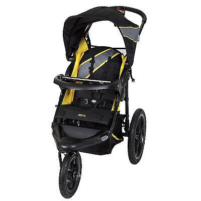 Baby Trend XCEL Jogger Traveling Stroller with Storage, Lemon Zest | JG95A16A